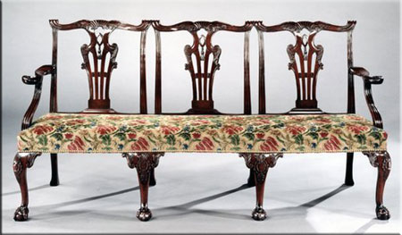 Chippendale Settee
