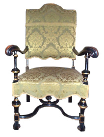 Lovely William And Mary Authentic Chair