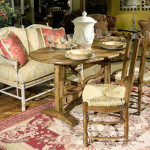 Cottage style casual dining is an eclectic blend of the best comfortable styles.