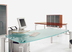 modern used office furniture is a good find if it complements the home decor