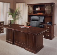 Used office furniture in the home