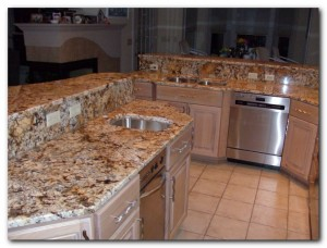 Superbe Red Tone Marble Countertop