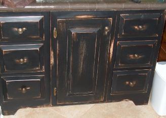 Distressed Cabinets Painting Techniques