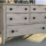 distressed chest