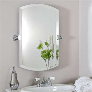 my favorite bathroom mirror style for easy updating