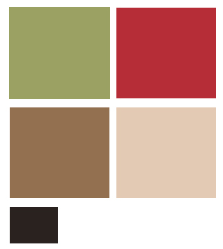 French Country Color Scheme Palette