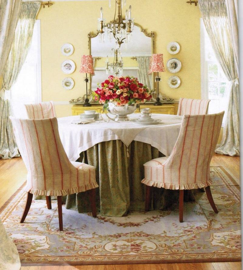 French Country Decor Window Treatment